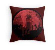 Zombie Run! Throw Pillow