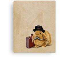 Commuter Bunny Canvas Print