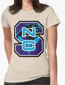 North Carolina Panthers Hornets Womens Fitted T-Shirt
