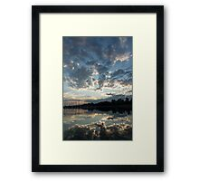 Sky Glory Framed Print