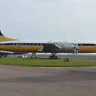 Bristol Britannia  Monarch Airlines by mike  jordan.