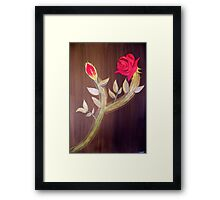 Title Eternal Rose (For my valentine) Framed Print