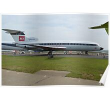 BEA Hawker Siddeley Trident Two Poster