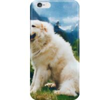 Great Pyrenees In The Valley iPhone Case/Skin