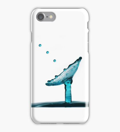 Fluidart water drop images iPhone Case/Skin