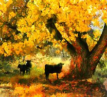 Autumn landscape by Mai Shisa