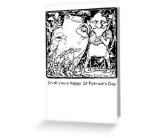 Irish You A Happy St Patricks Day Greeting Card