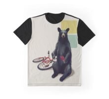 Summer Bear Graphic T-Shirt