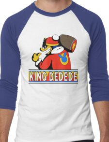 King Dedede Men's Baseball ¾ T-Shirt