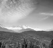Mountain Landscape 1 Canada  by Darren Bailey LRPS