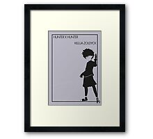 Killua Framed Print