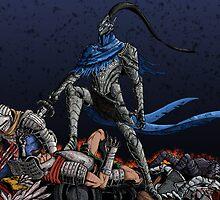 Dark Souls: Artorias print by MenasLG