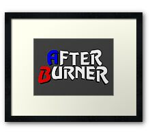 After Burner Framed Print