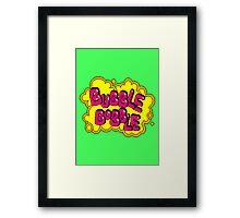 BubBob Arcade Framed Print