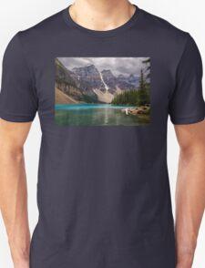 Moraine Lake - Banff National Park Unisex T-Shirt