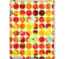 Mixed Pattern Floral and Polka Dots iPad Case/Skin
