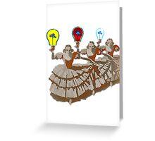 Bulbs Greeting Card