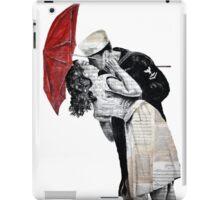 Famous kiss iPad Case/Skin