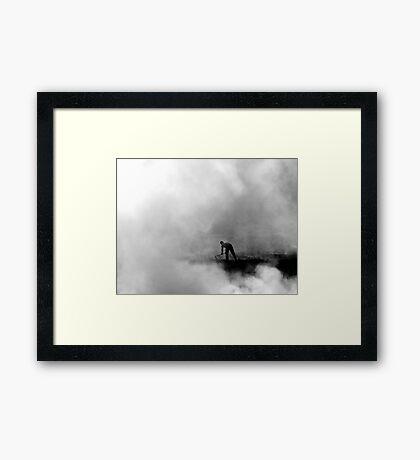 A Time to Burn Framed Print