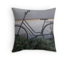 Let's take a ride Throw Pillow