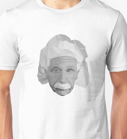 Albert Einstein - Geometric Art Unisex T-Shirt