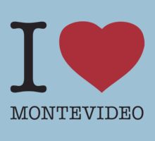 I ♥ MONTEVIDEO Kids Clothes