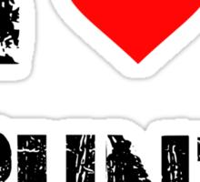 I love Ubuntu Sticker