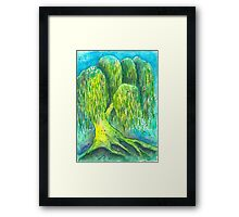 Mother's Willow Framed Print