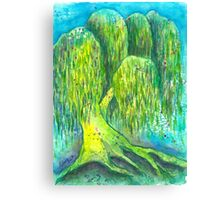 Mother's Willow Canvas Print