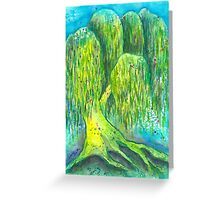 Mother's Willow Greeting Card