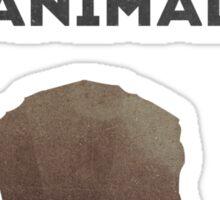Man is the cruelest animal Sticker