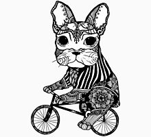 Funny Big Mouse Rat on a Bicycle  Unisex T-Shirt