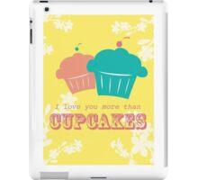 Cupcake Love is Real iPad Case/Skin