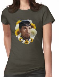 mirror spock Womens Fitted T-Shirt