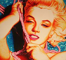 Marilyn Monroe by JMCSharpieArt