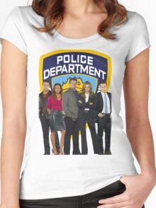 12th Precinct Team Women's Fitted Scoop T-Shirt