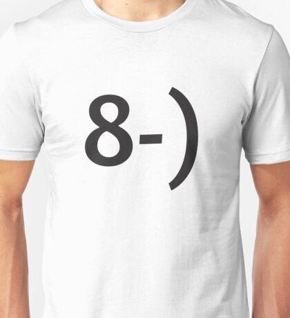 Emoticon Series: Glasses Unisex T-Shirt