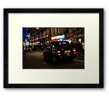 London's Glittering West End Framed Print