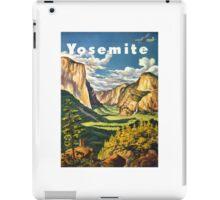 Yosemite Travel iPad Case/Skin