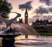 Palace of Westminster, London by Mark Sykes