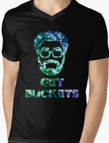 Uncle Drew get buckets prism Mens V-Neck T-Shirt