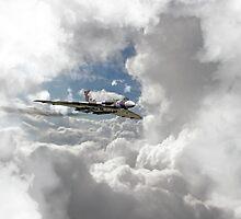 XH558 at Altitude by J Biggadike