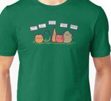 I hate vegans Unisex T-Shirt