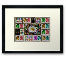 PARTY EGGS Framed Print