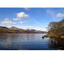 Coniston Water, English Lake District. Photographic Print