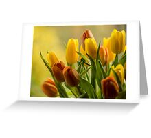 """St Clements"" Tulips Greeting Card"