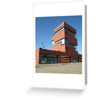 Museum Antwerp. Greeting Card