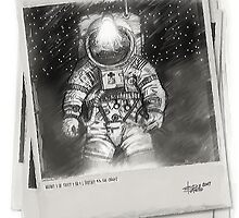 Lunar Anomaly (Polaroid) by Bob Bello