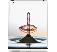 Fluidart water drop images iPad Case/Skin