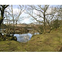 The Shore of Coniston Water Photographic Print